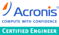 Certification Acronis